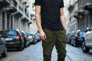 Alessandro Dell'Isola Streetstyle in Milan