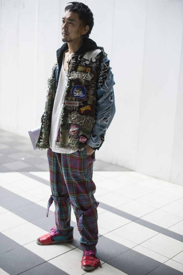 Haruno Streetstyle in Tokyo