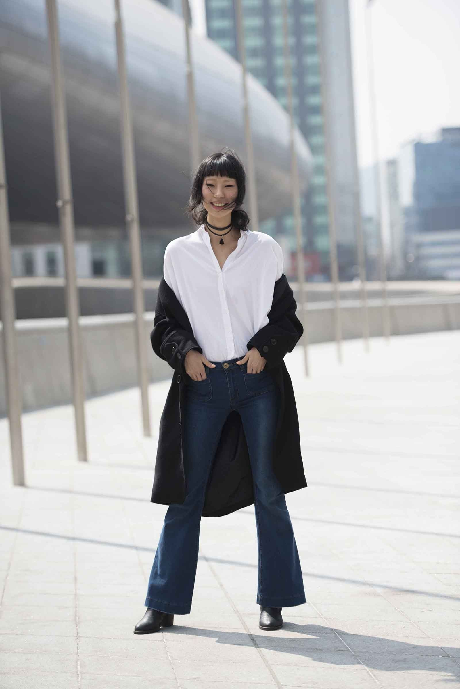 Heejeong Park Streetstyle in Seoul