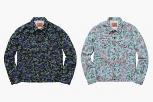 Levi's x Supreme SS16 Floral Collection