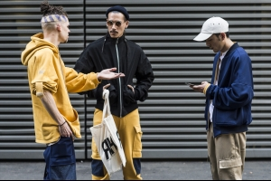 London Collections: Men SS17 - Part 1 Reportage by Julien Boudet