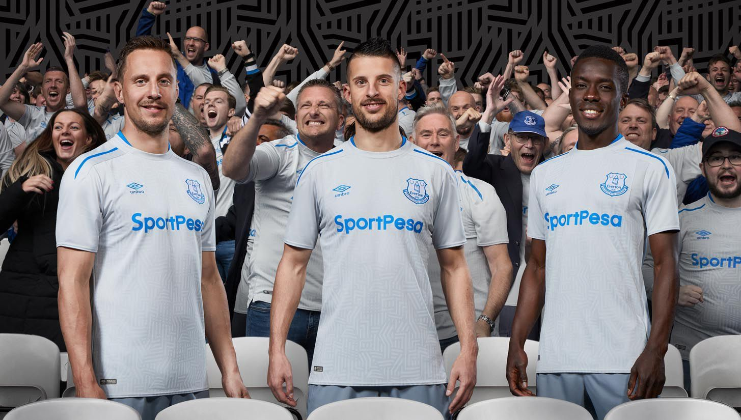 Everton And Umbro Unveil Toffees Away Jersey For 2017 18 Season