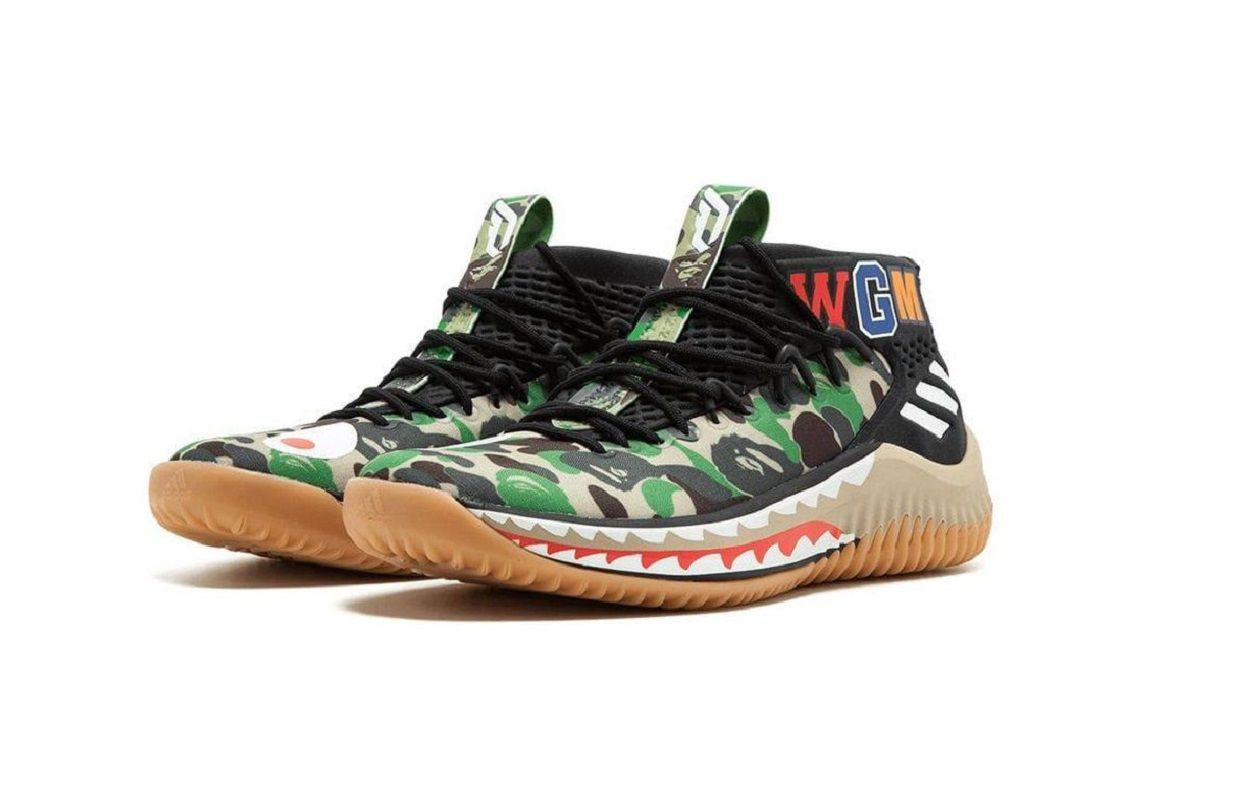 How to buy the BAPE x adidas Dame 4