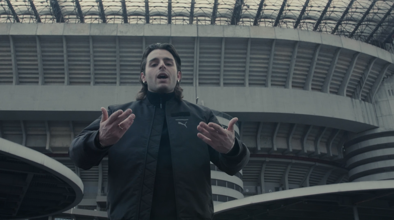 Instagram Video From Milan Based Rapper Confirms Ac Milan And Puma Partnership