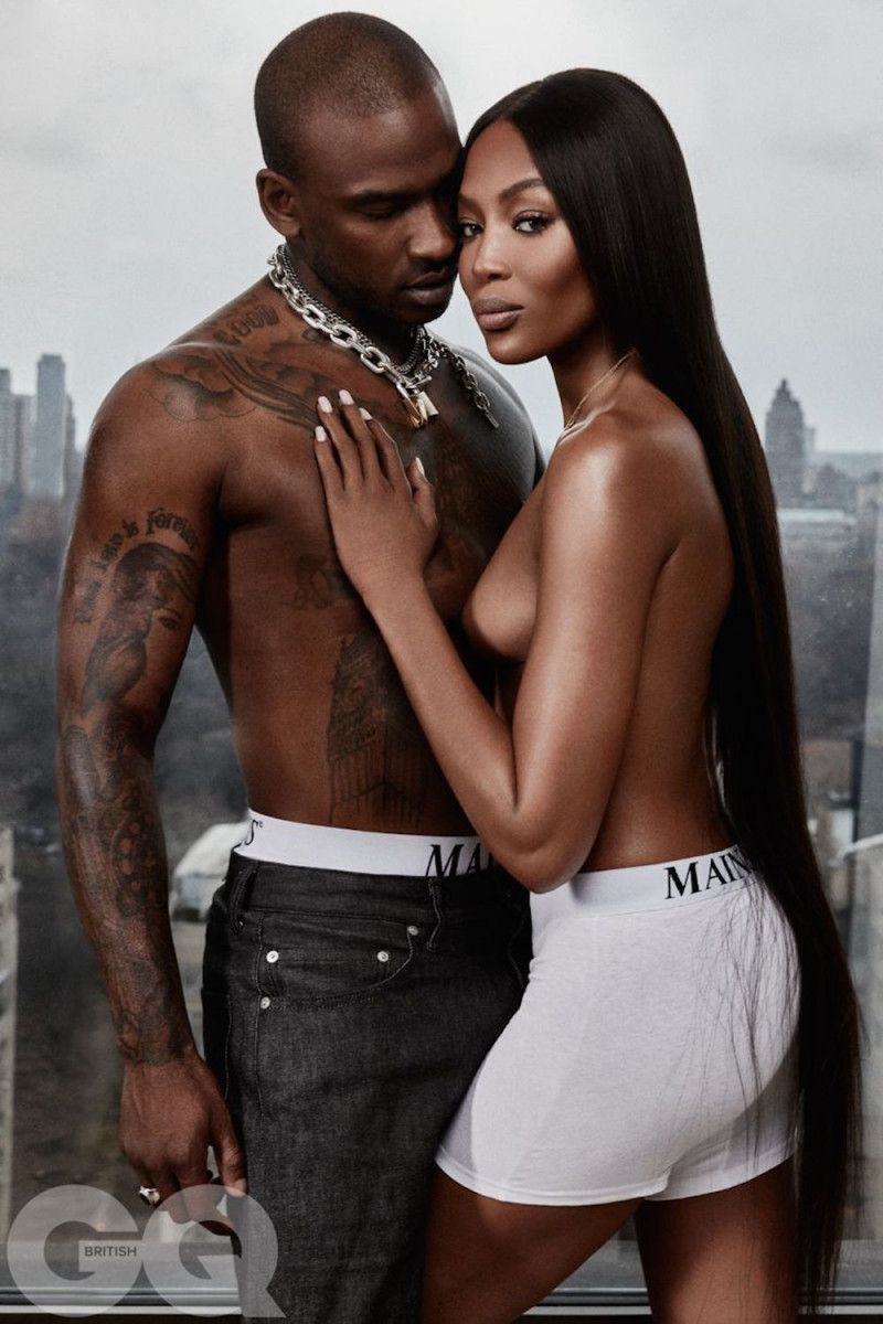 Naomi Campbell is dating grime star Skepta: They hit it off