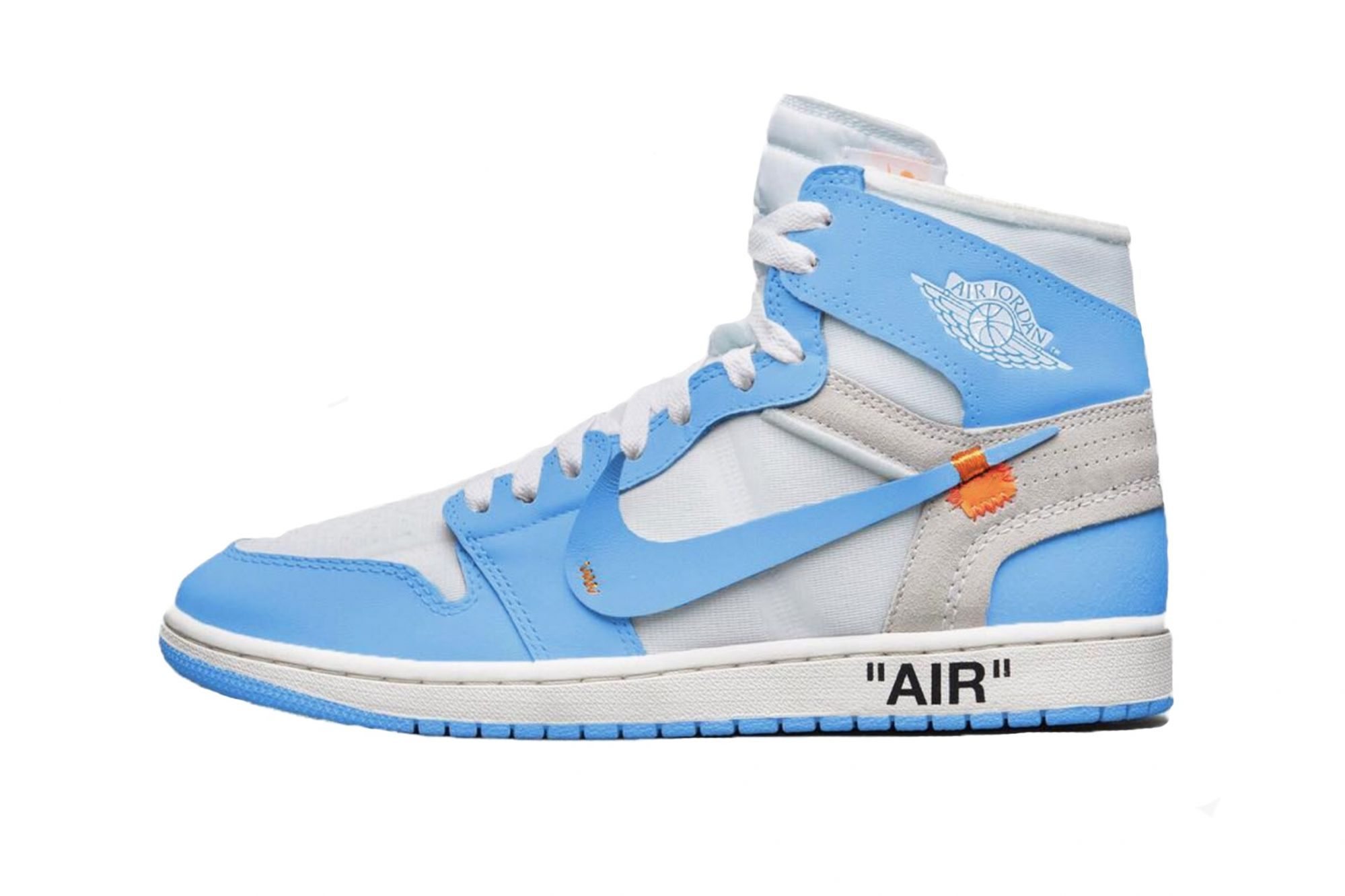 Unveiled a new Air Jordan 1 x Off White