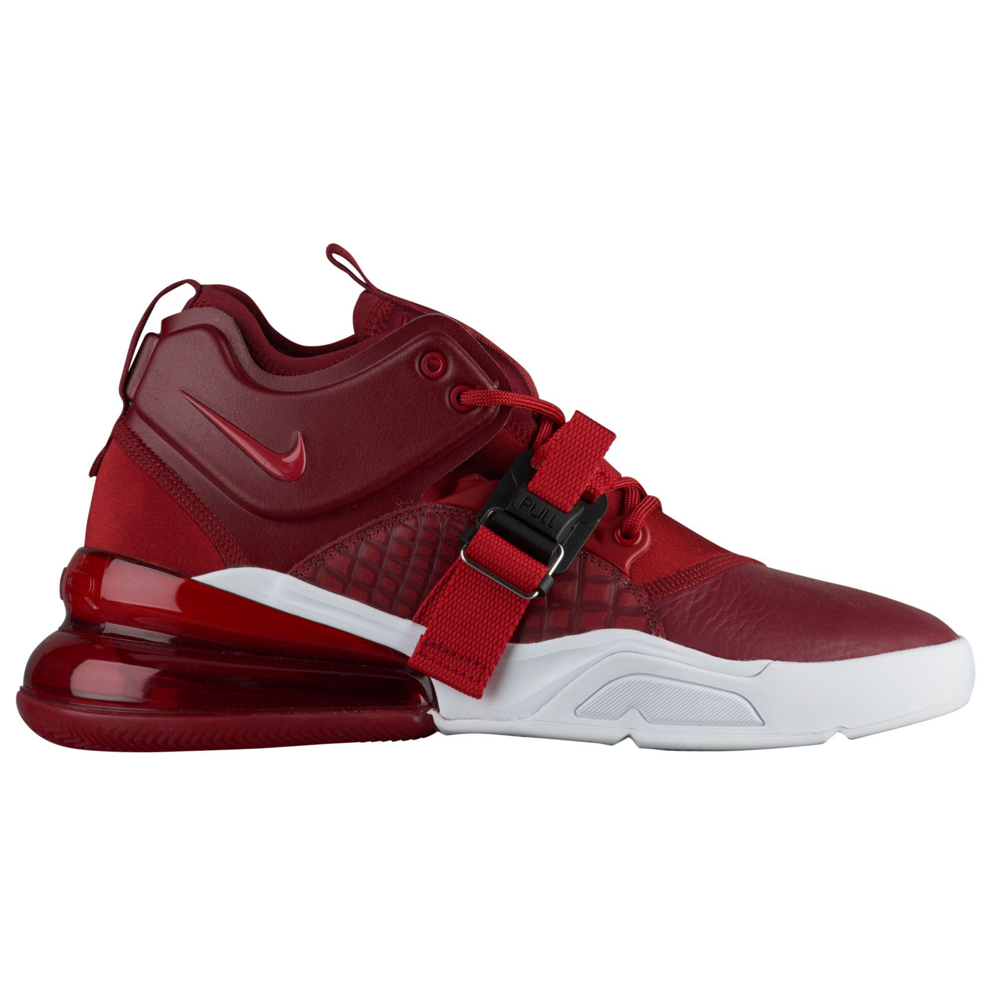 pair of bright red Air Force 270
