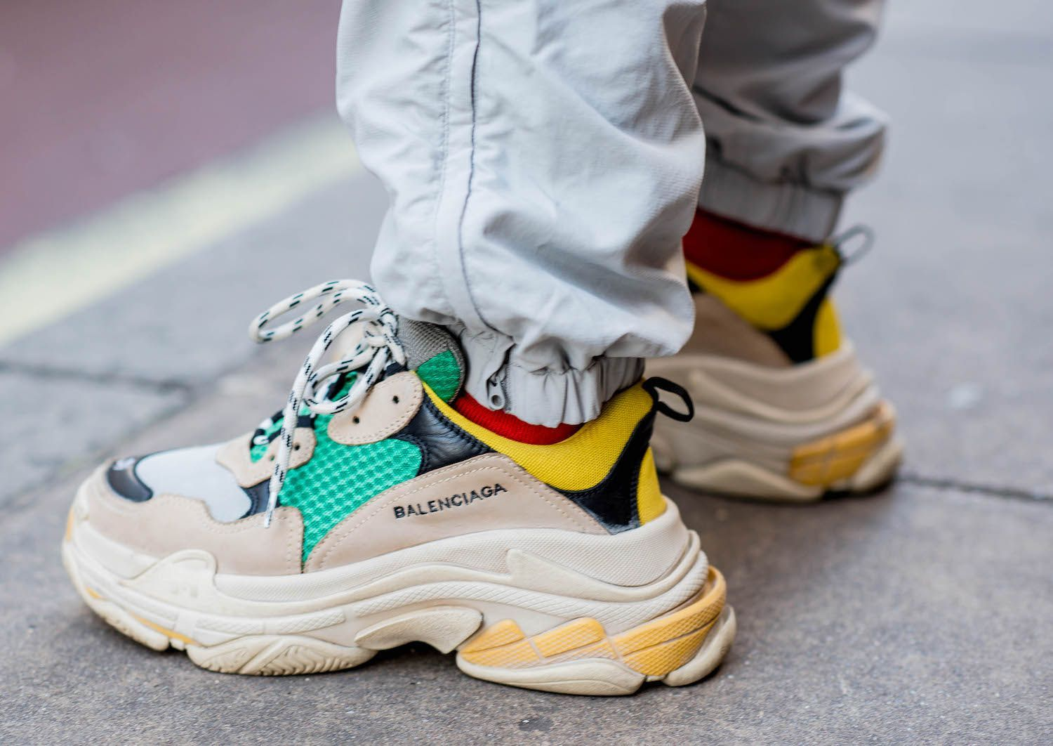 chunky sneaker trend continue in 2018