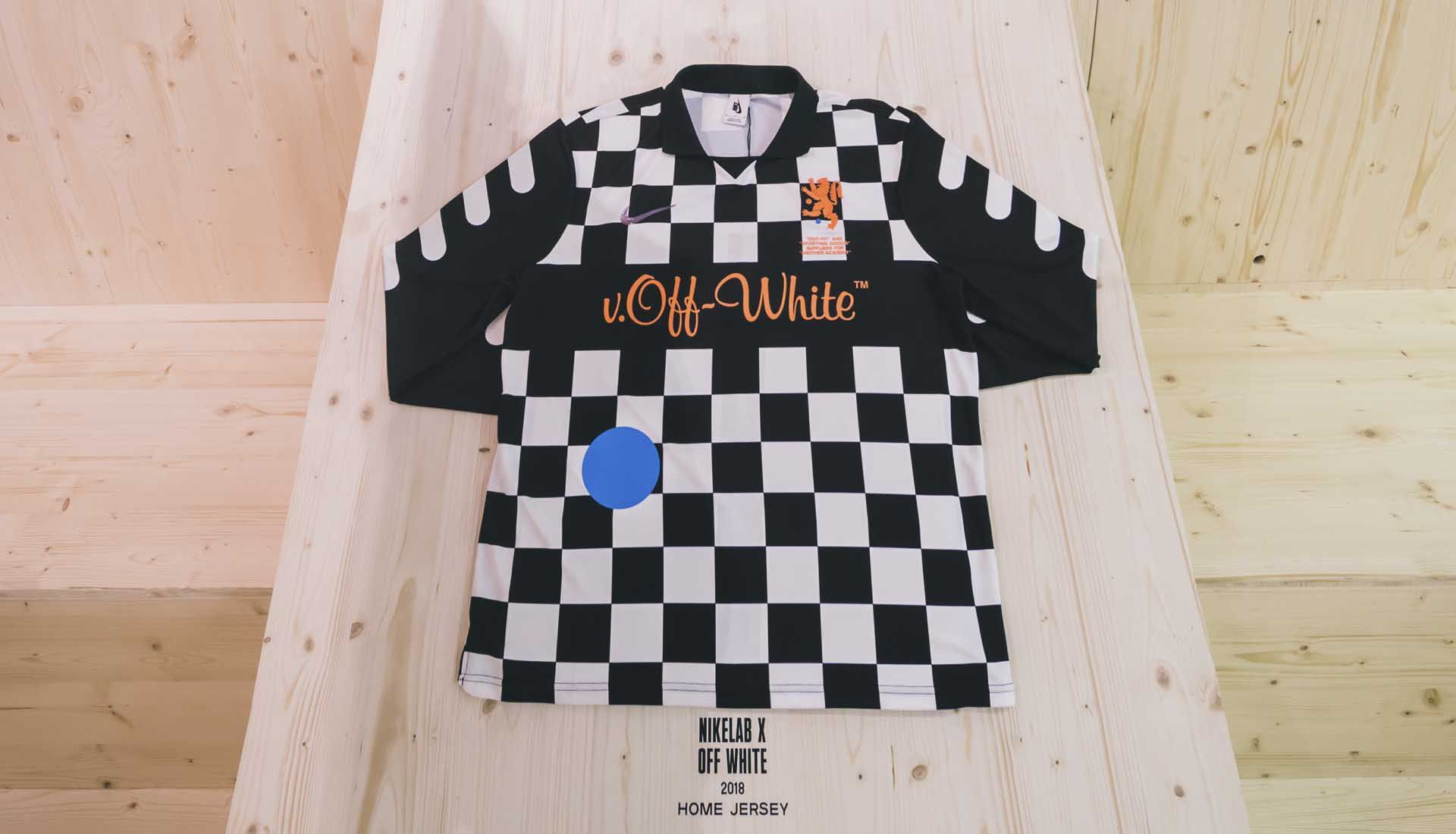 Off-White x Nike Football collection leaked