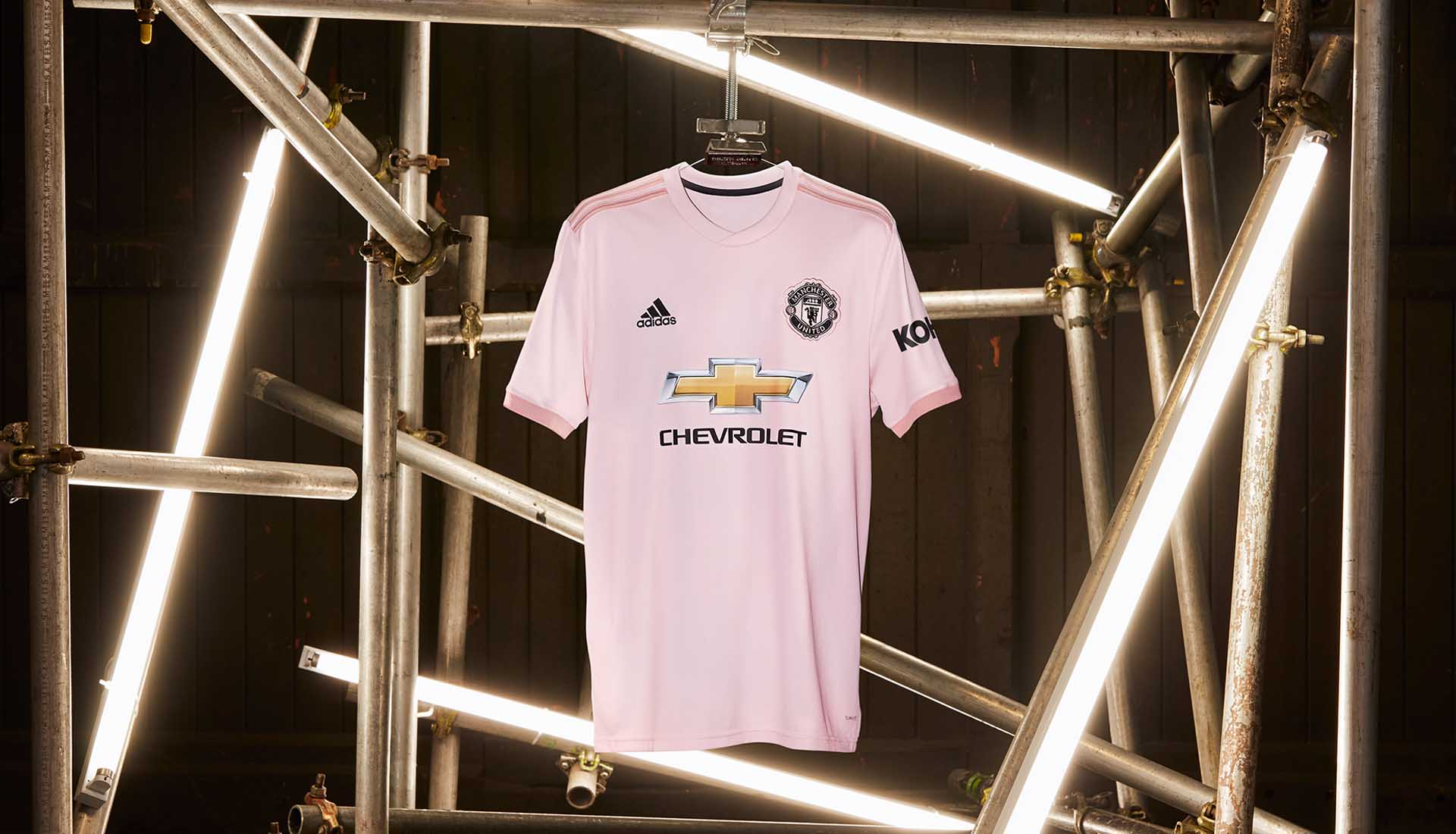 the new manchester united s away shirt is pink manchester united s away shirt is pink