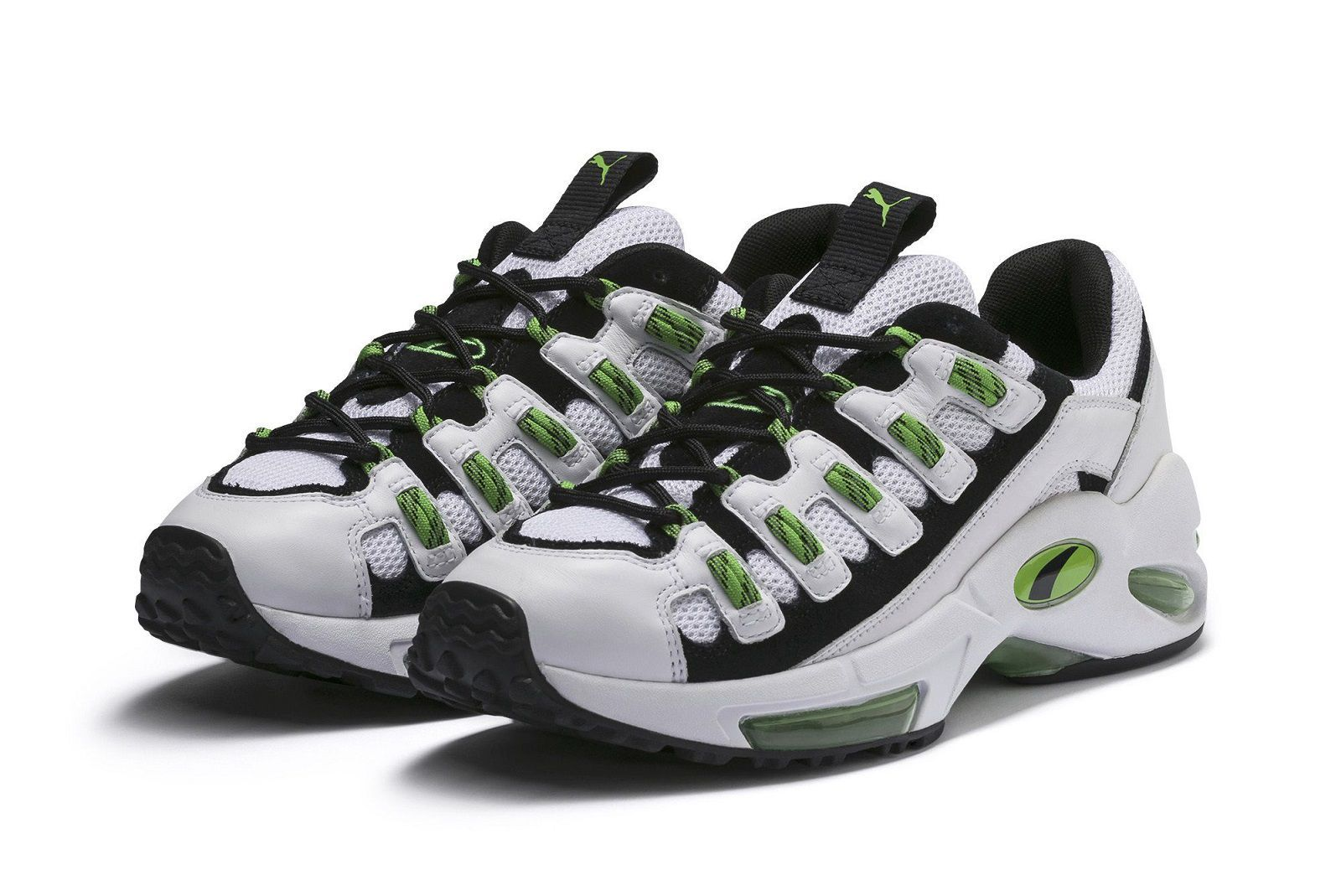 fatiga barro cascada  PUMA CELL Endura: the return of visible green unit