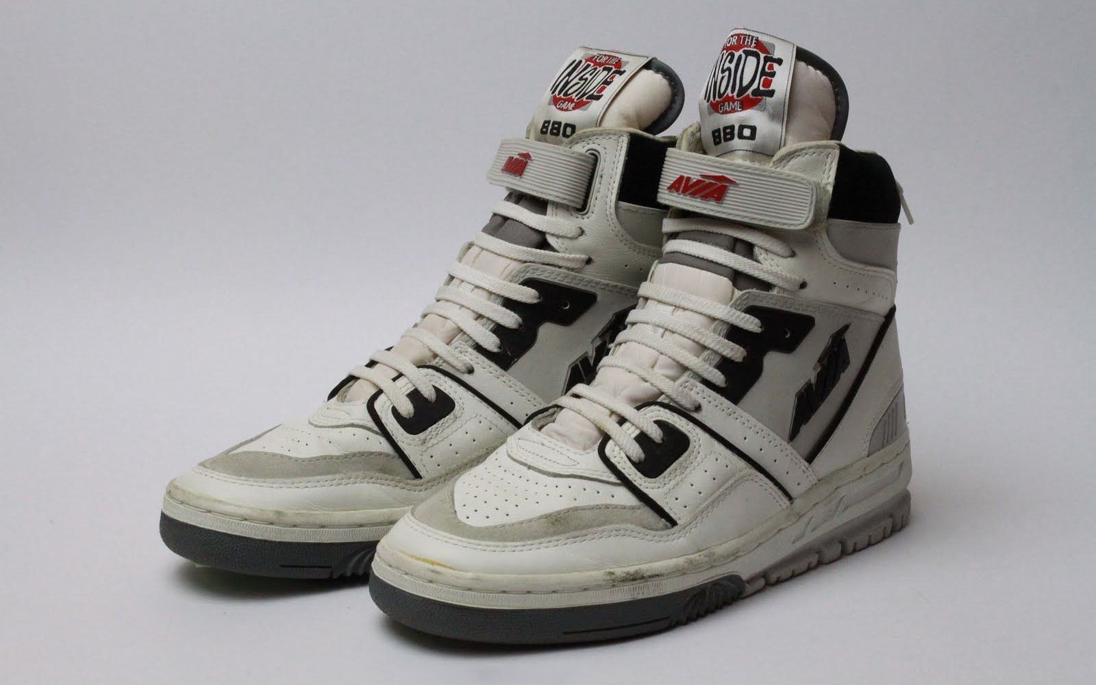 80s and 90s basketball shoes