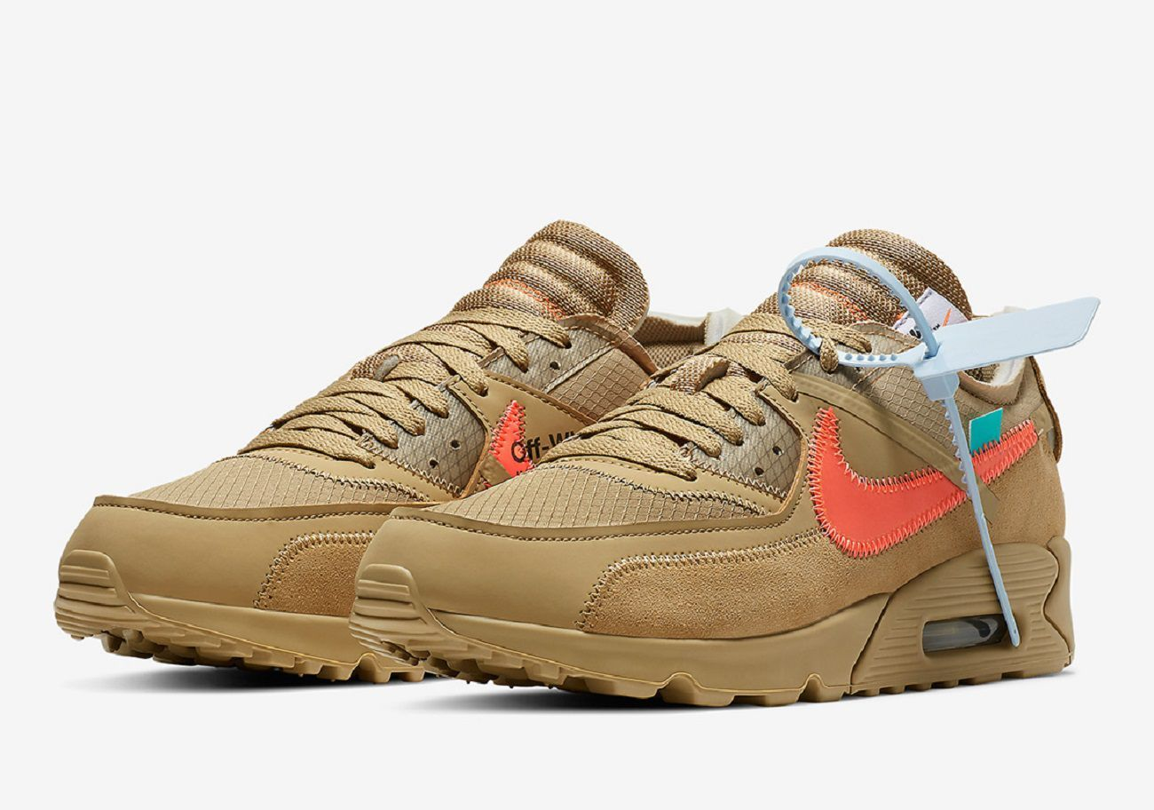 Two New Colorways Of The Air Max 90 X Off White