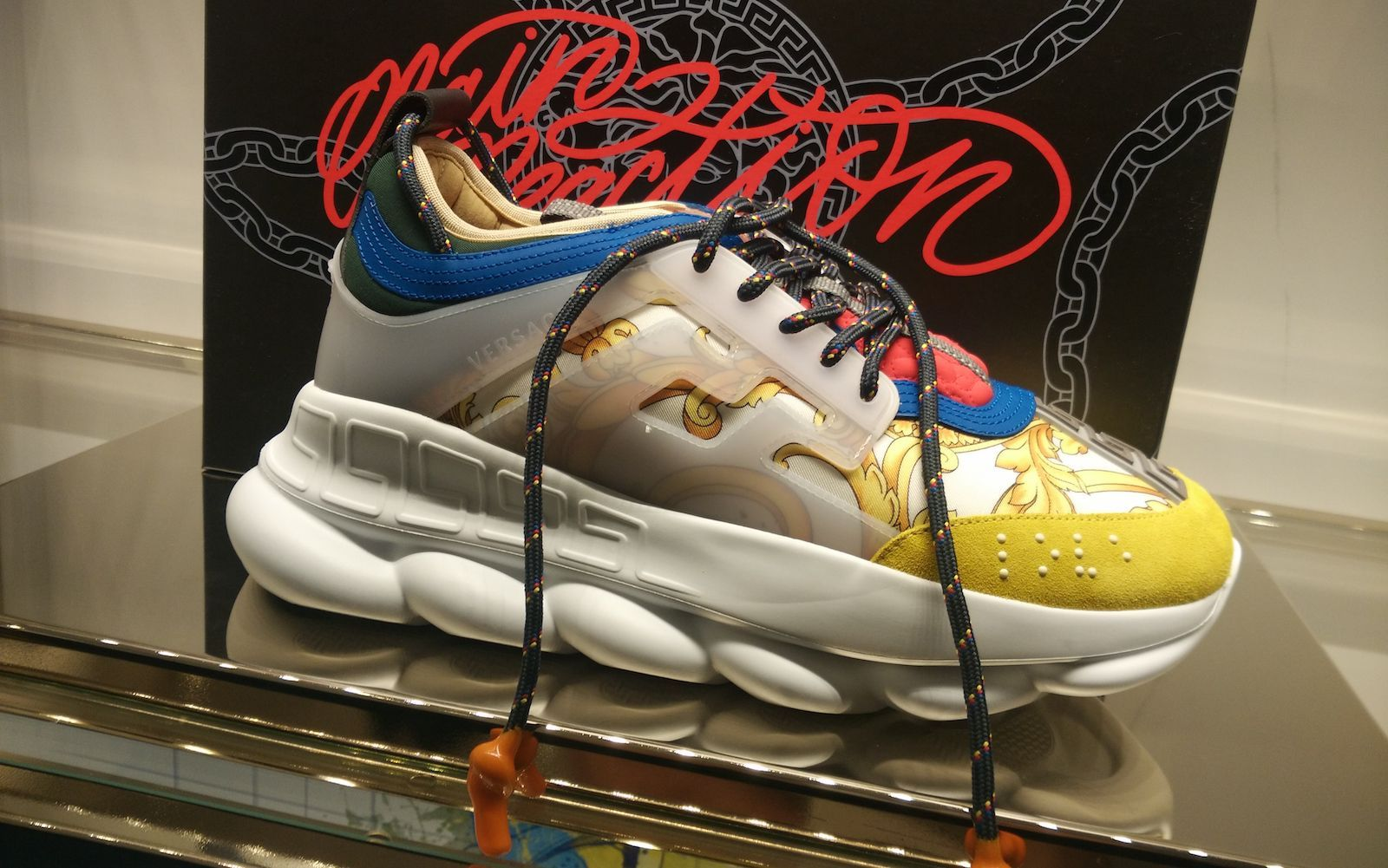 new versace chain reaction