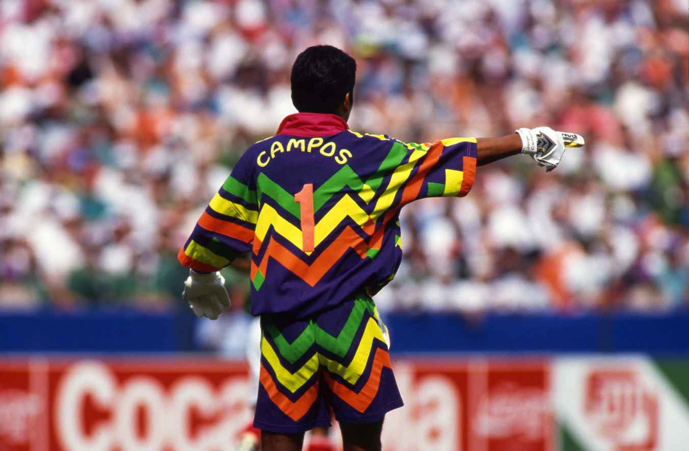 Classic Football Shirts Has Reproduced An Old Jorge Campos Jersey