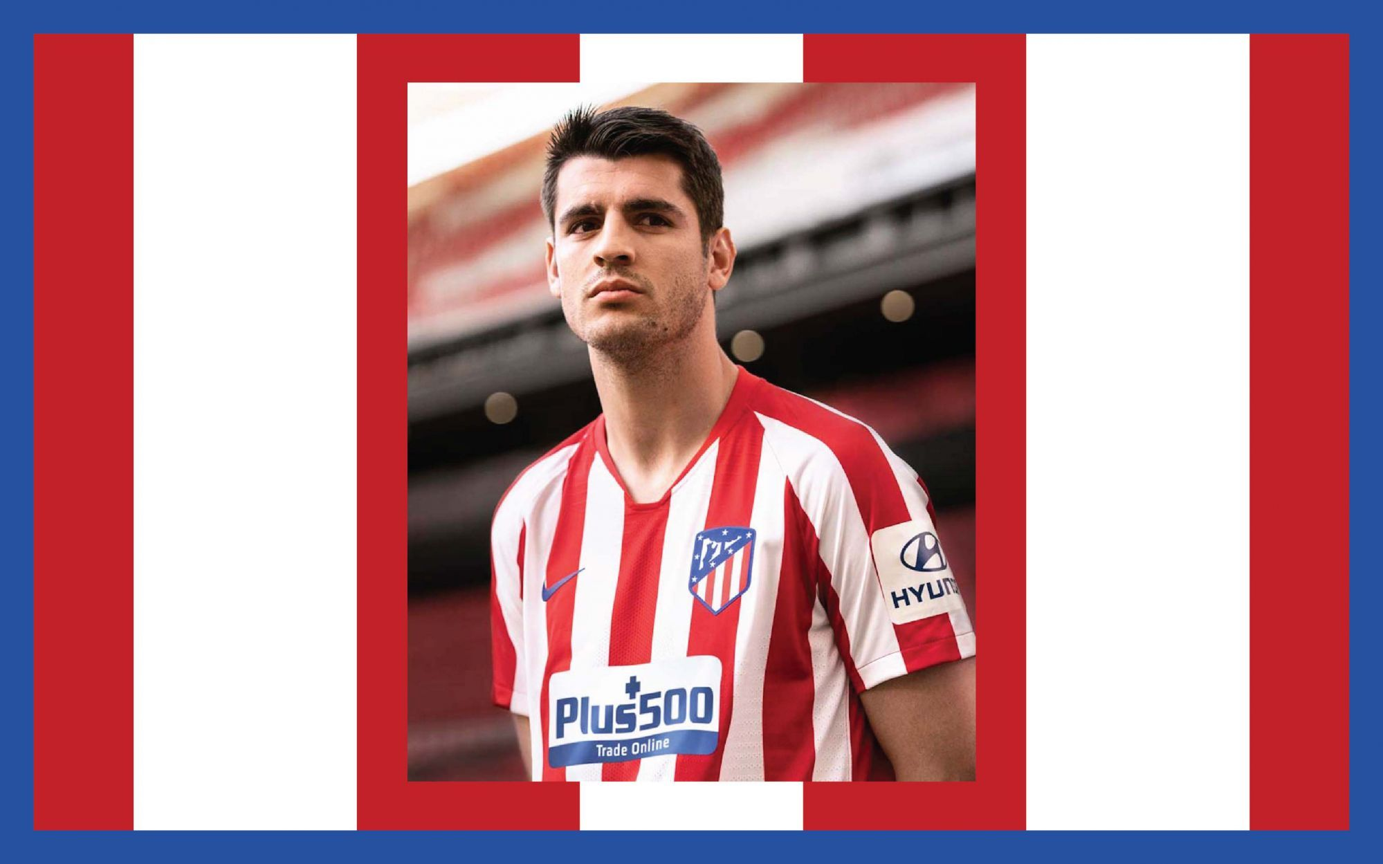 The 2019 2020 Atletico Madrid Home Kit