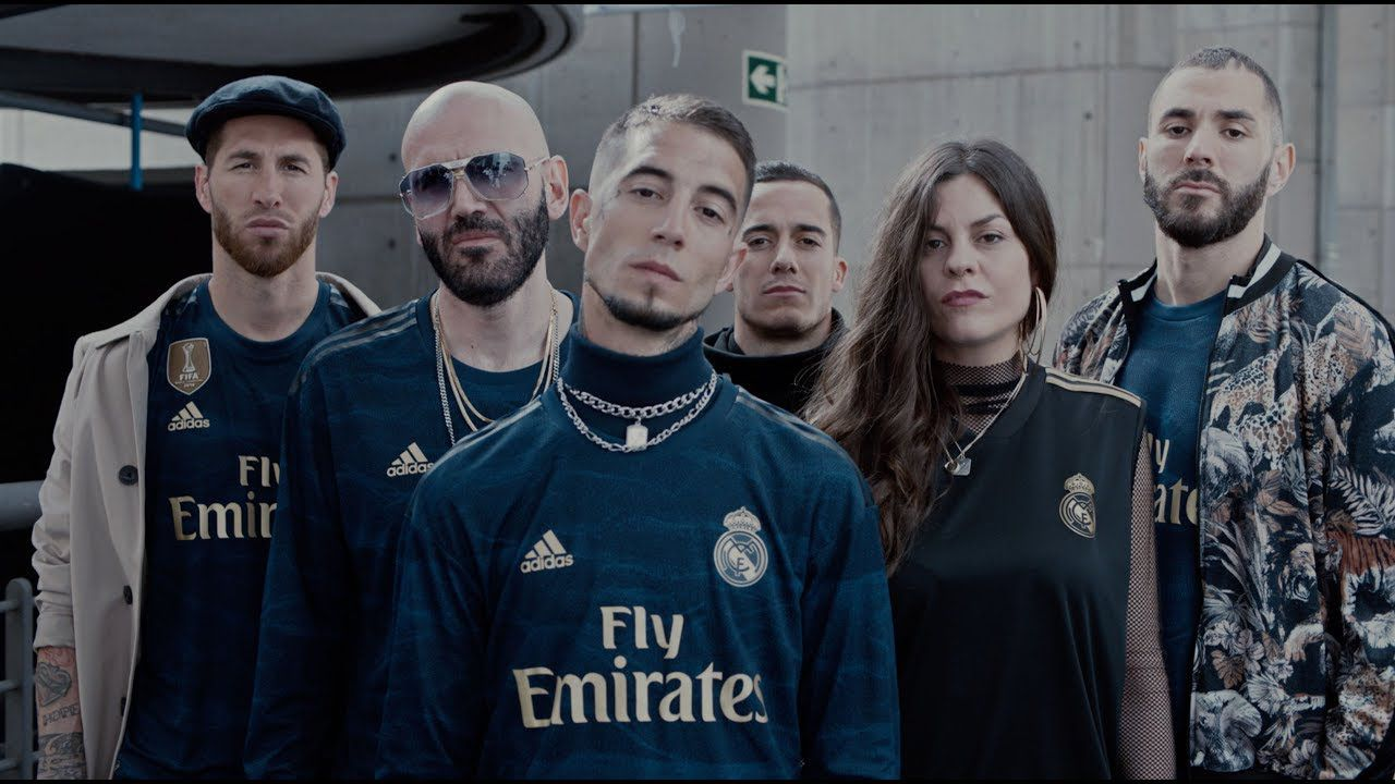Guarda la ropa petrolero Ganar  Real Madrid presented the 2019/2020 Away kit with a trap song