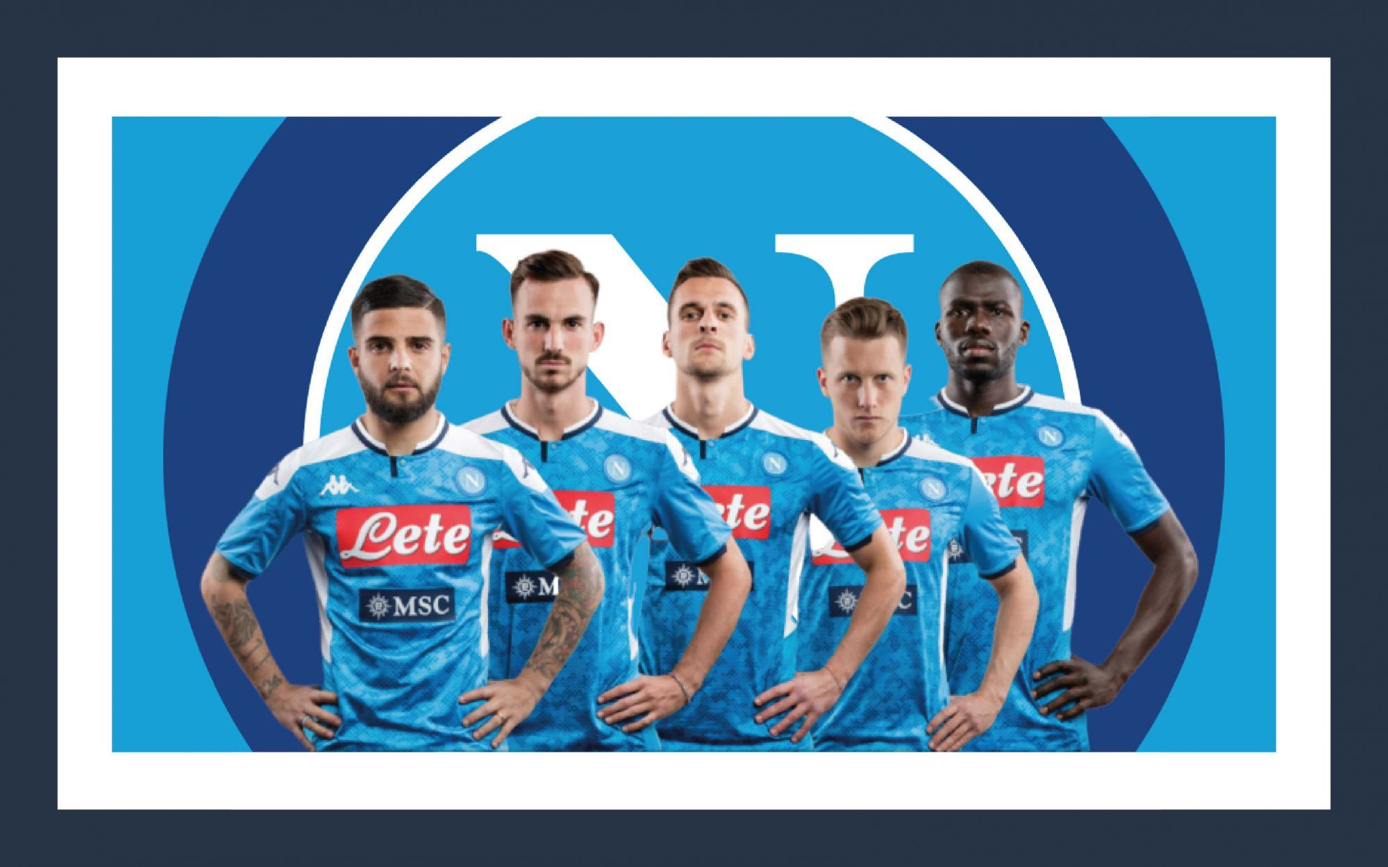 The Naples 2019 2020 Home Kit