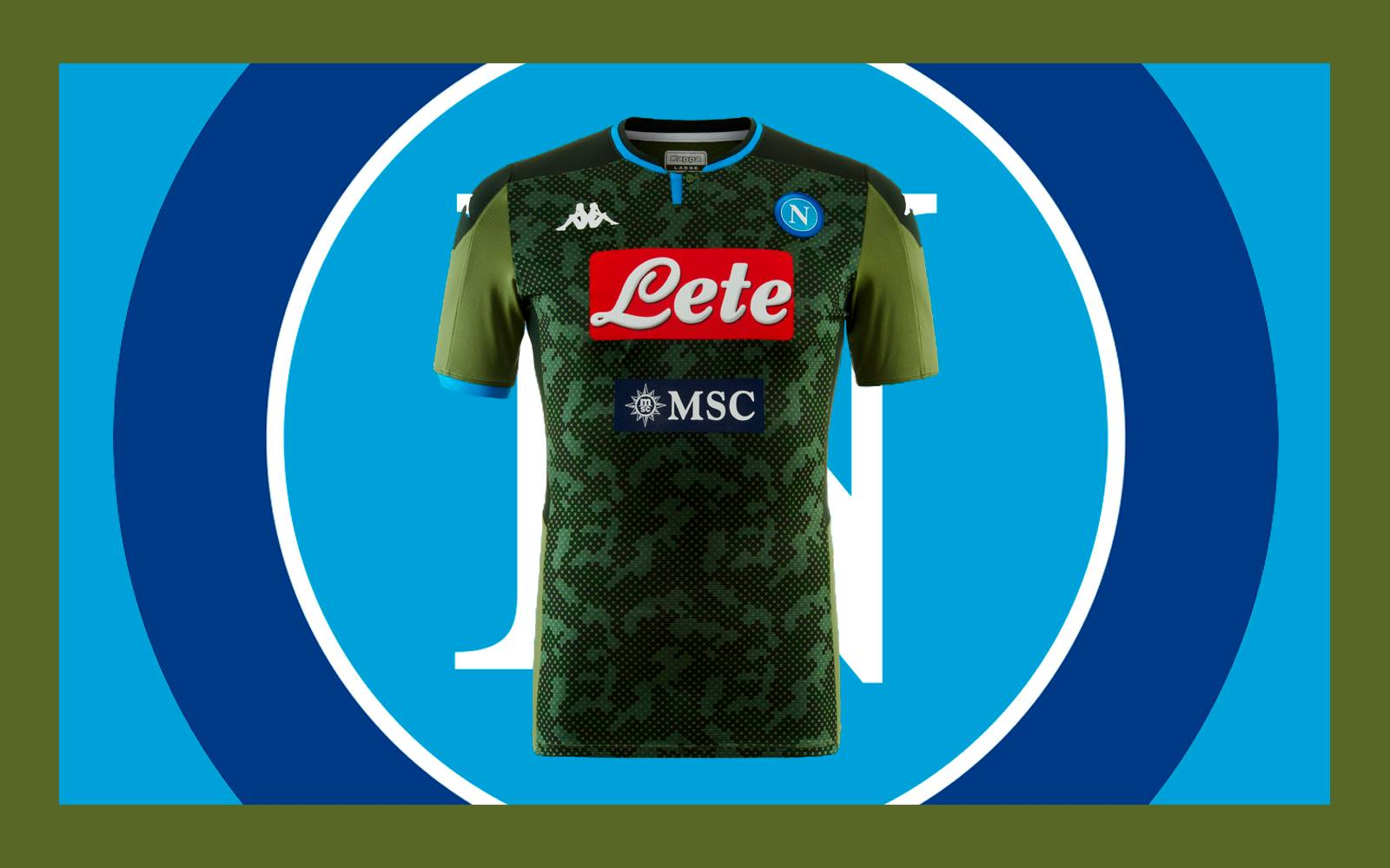 The Napoli 2019 2020 Away Shirt