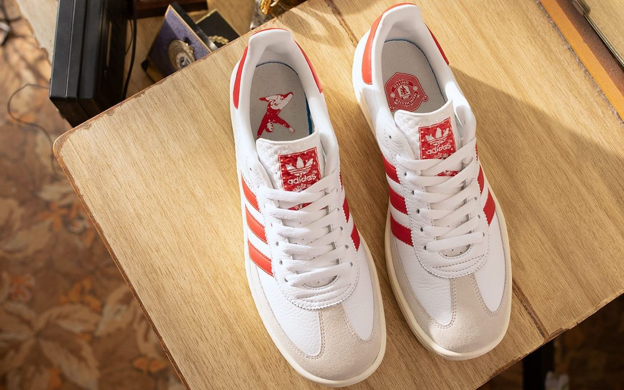 The New Adidas Originals X Manchester United Sneakers