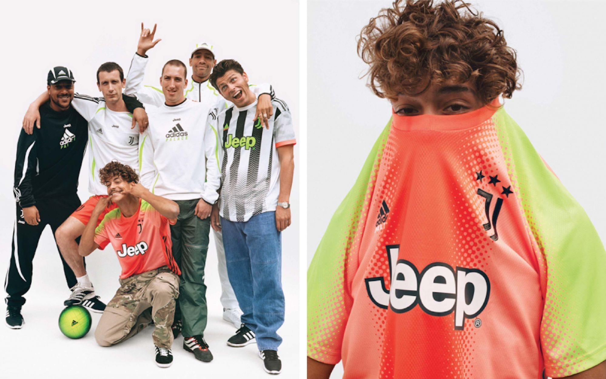 The Lookbook Of Juventus X Palace Collection