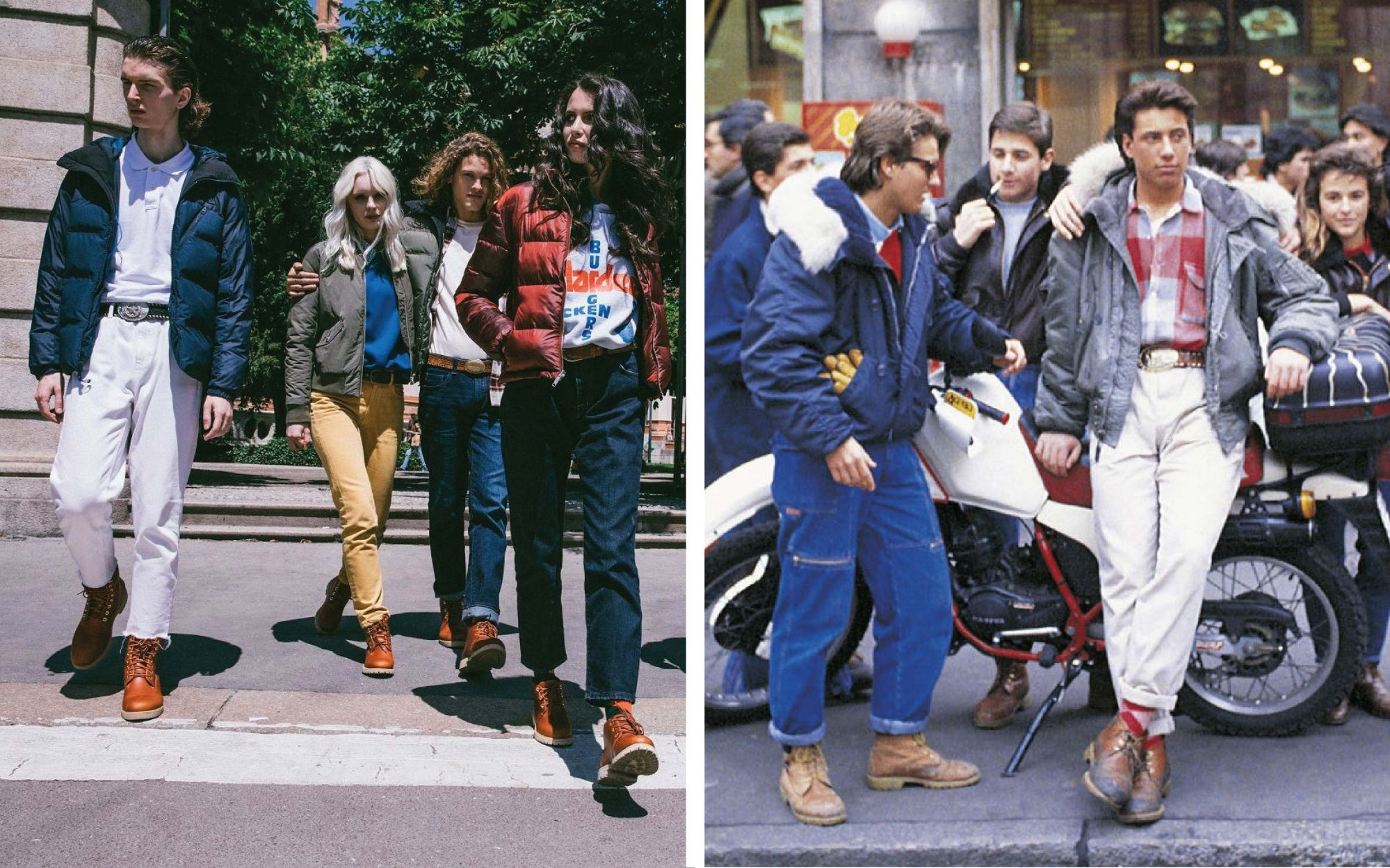 ropa interior Crítica Contribuir  Timberland introduces Iconic '80s