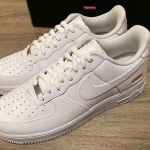 The official release date of the Supreme x Nike Air Force 1 Low