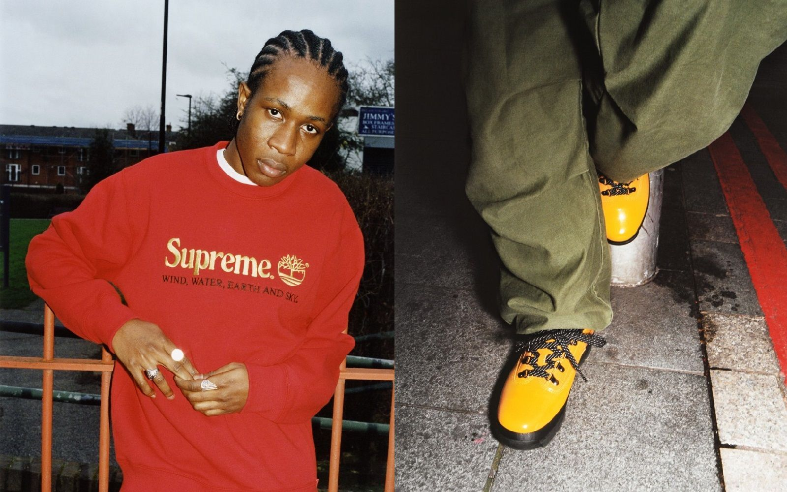 Supreme x Timberland capsule collection