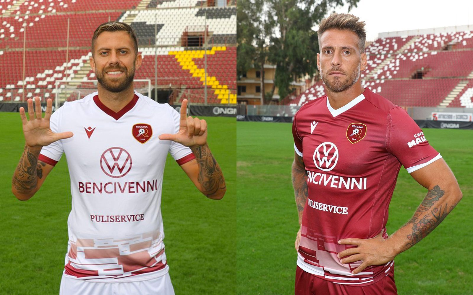 The New Macron Jersey Of Reggina 2020 21