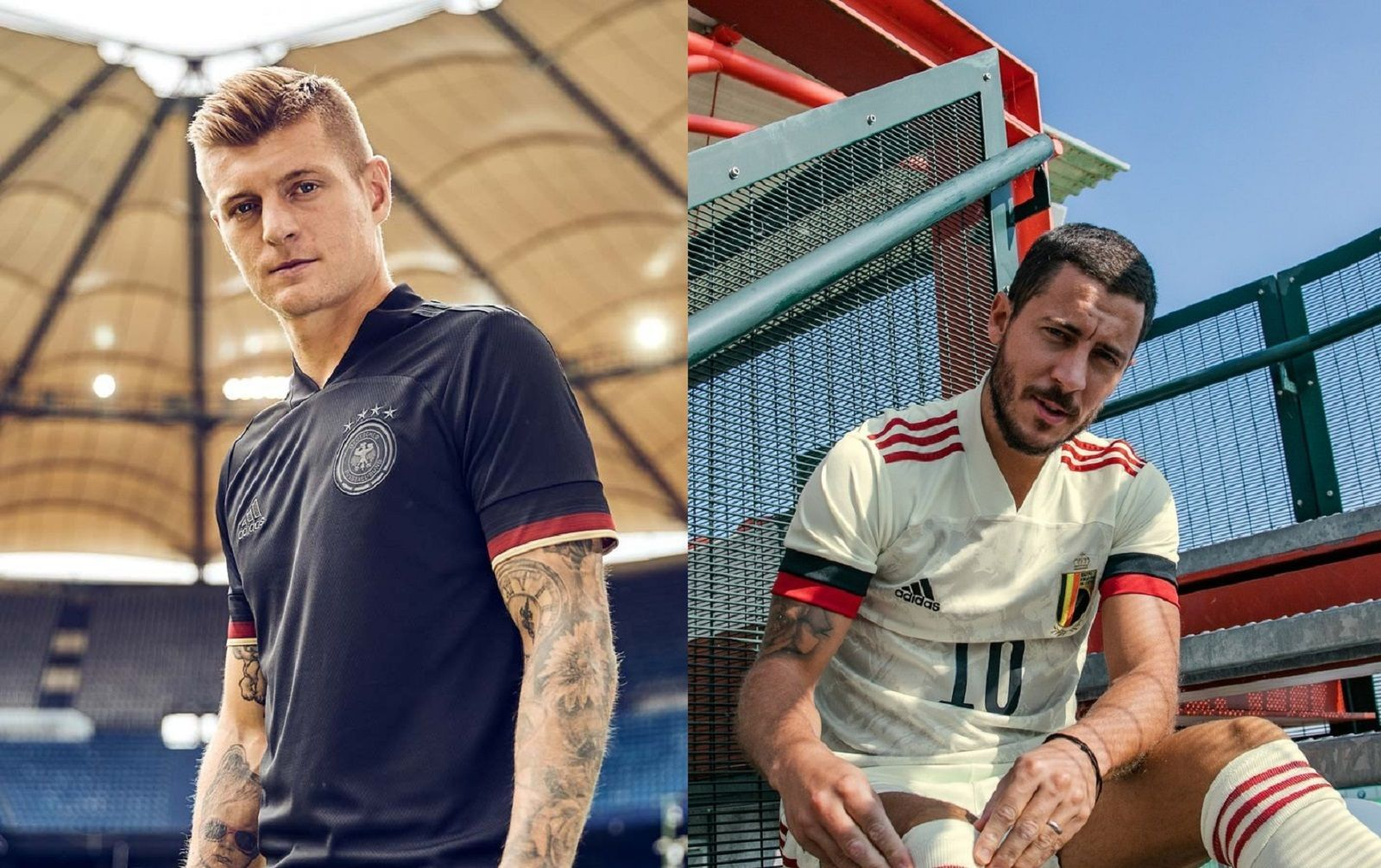 The adidas jersey for Euro 2020