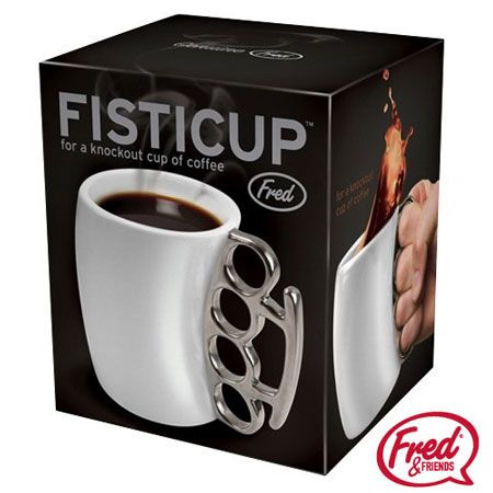 Christmas gift countdown - Fisticup Brass Knuckles