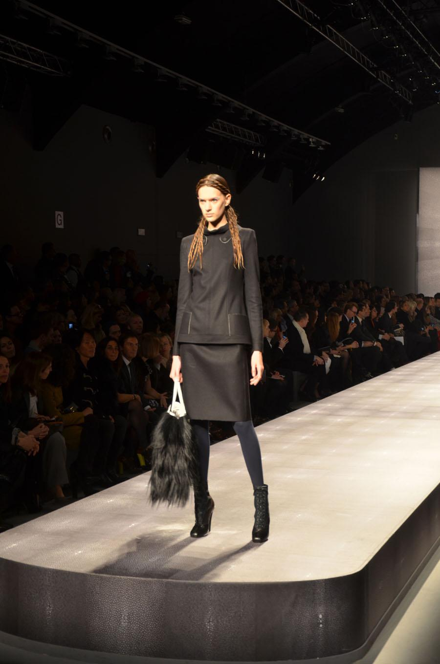Velum at Fendi Fashion Show