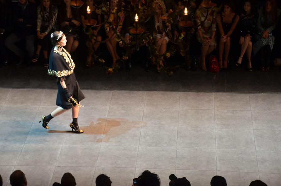 Velum at Dolce&Gabbana fashion Show