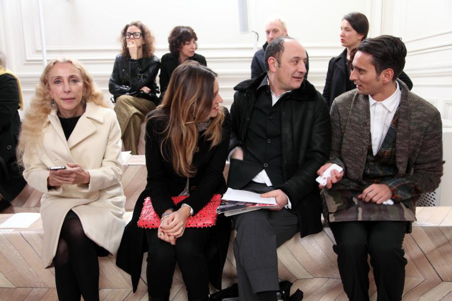 At Maison Martin Margiela Fashion Show Paris AW12