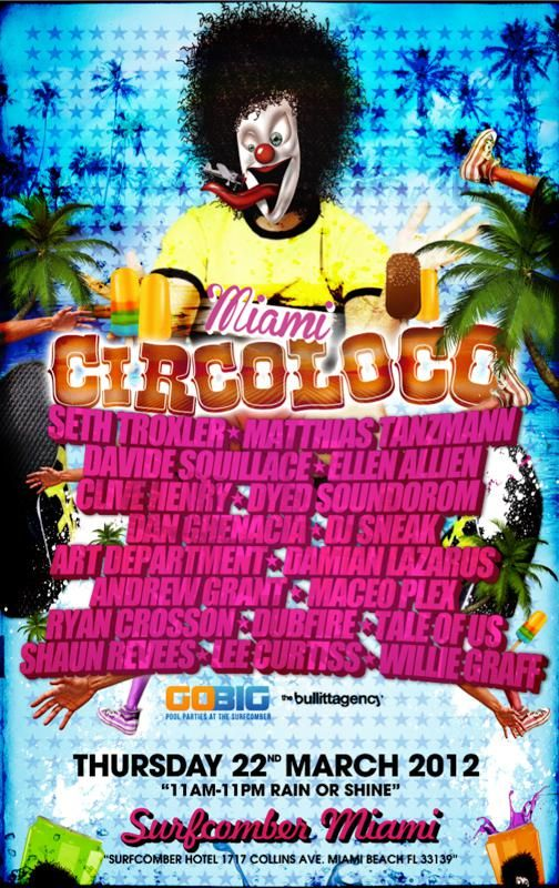 Circoloco Miami Full Video Party