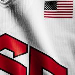 USA National Team uniforms and Typeface