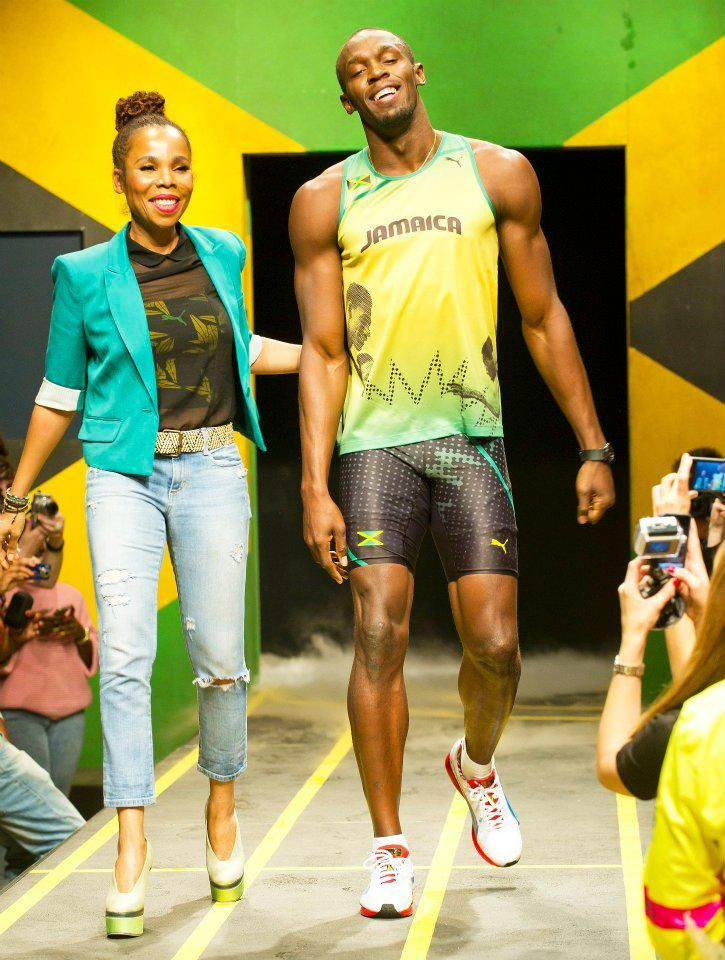 The New Puma Jamaica Kit Olympic Games by Cedella Marley