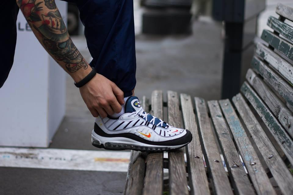 Nike Air Max 98 Available On One Block Down