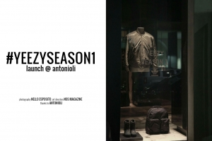 #YeezySeason1 launch @ Antonioli, Milano October 29th, 2015