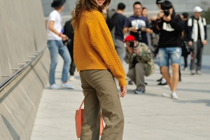 Hojeong Lee Streetstyle in Seoul
