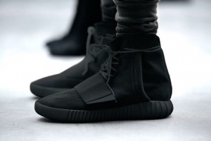 First look at the adidas Black Yeezy Boost 750 Available from Dec. 5