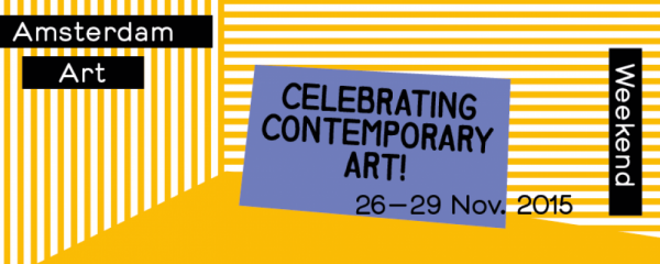 Amsterdam Art Weekend From November 26 to 29, 2015