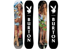 Burton x Playboy Snowboard Collection 2016