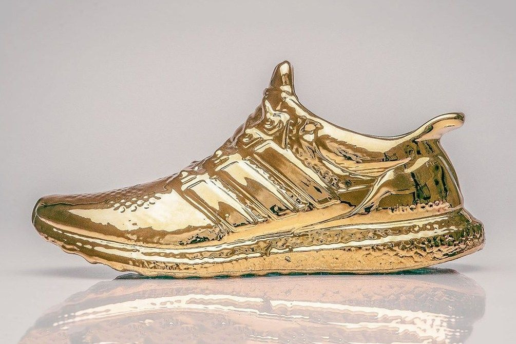 adidas ultra boost becomes art - By Lee