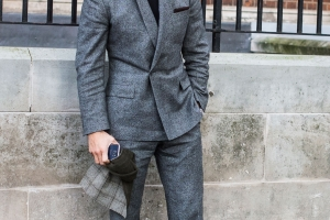 David Gandy Streetstyle in London