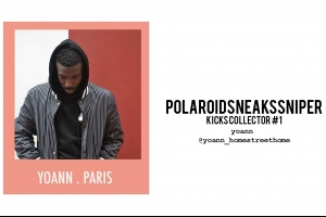POLAROIDSNEAKSSNIPER Kicks Collectors #1 Yoann HomeStreetHome