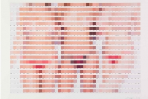 Pantone Modern Nudes Artworks by Nick Smith