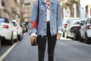 Alice De Togni Streetstyle in Milan